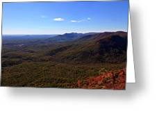 Table Rock Mountain From Caesars Head State Park In Upstate South Carolina Greeting Card
