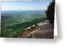 Table Rock Overlook Greeting Card by Kelly Hazel