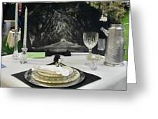 Tablescape Greeting Card