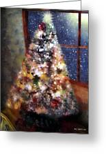 Tabletop Tannenbaum Greeting Card