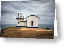 Tacking Point Lighthouse At Port Macquarie, Nsw, Australia Greeting Card