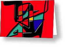 Tactile Space   II   Greeting Card