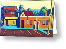 Taft Hill Road Greeting Card