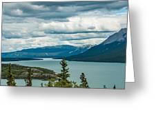 Tagish Lake Greeting Card