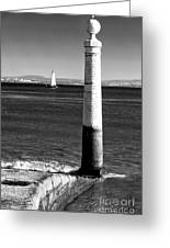 Tagus River View Greeting Card