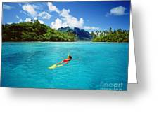 Tahiti, Bora Bora Greeting Card