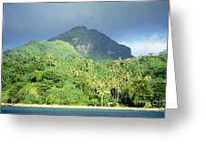 Tahiti Greeting Card