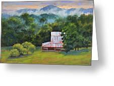 Tahlequah Ridge Morning Greeting Card