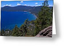 Tahoe Rim Trail Greeting Card