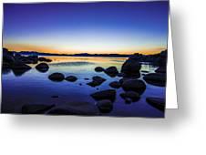 Tahoe Serenity Greeting Card