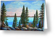 Tahoe Shore Greeting Card
