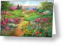 Tahoe Spring Greeting Card