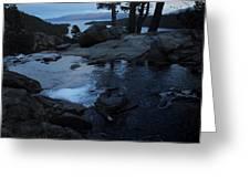 Tahoe Twilight Greeting Card