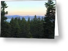 Tahome Sunrise Greeting Card