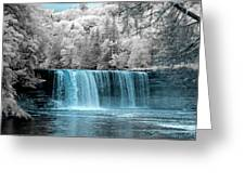 Tahquamenon Falls Ir 720nm Greeting Card