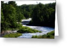 Tahquamenon Lower Falls Upper Peninsula Michigan 12 Greeting Card