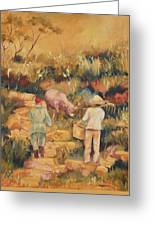 Taipei Buffalo Herder Greeting Card