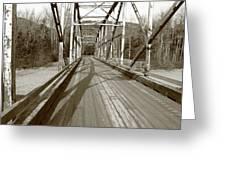 Taiya River Bridge #1 Greeting Card