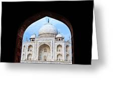 Taj Archway Greeting Card