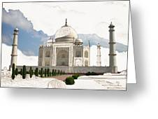 Taj Mahal Dreams Of India Greeting Card