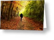 Take A Walk Greeting Card