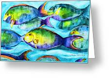 Take Care Of The Fish Greeting Card