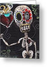 Take My Heart Greeting Card by  Abril Andrade Griffith