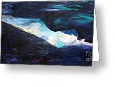 Taking The Plunge Greeting Card