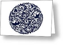 Talavera Design Greeting Card