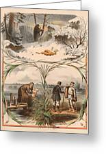 Tale Of The Marche Rich And Basil Homeless 1 Greeting Card