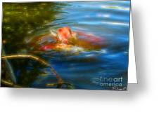 Tale Of The Wild Koi 2  Greeting Card
