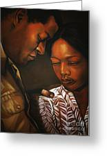 Talk To Me Baby Greeting Card by Curtis James