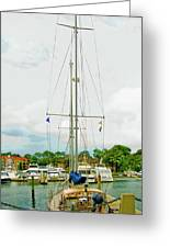 Tall Boat Greeting Card