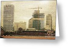 Tall Buildings Greeting Card