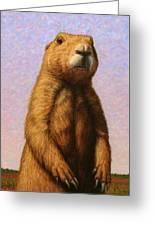 Tall Prairie Dog Greeting Card