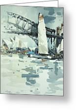 Tall Sails In Sydney Greeting Card