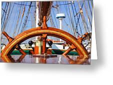 Tall Ship 2 Greeting Card