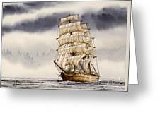 Tall Ship Adventure Greeting Card