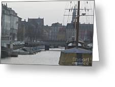 Tall Ship Of Copenhagen Greeting Card