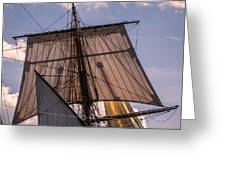 Tall Ship Sails 6 Greeting Card