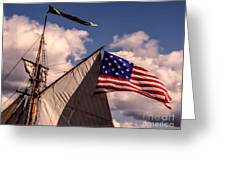 Tall Ship Sails 8 Greeting Card