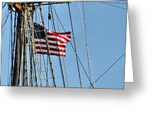 Tall Ship Series 3 Greeting Card by Scott Hovind
