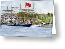 Tall Ships Festival Greeting Card