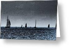 Tall Ships Halifax 2017 - Parade Of Sail Greeting Card