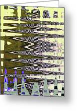 Tall Tempe Building Abstract Greeting Card