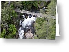 Tallulah Falls Bridge Greeting Card
