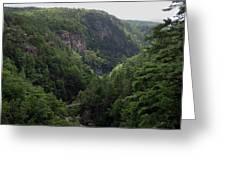 Tallulah Gorge 12 Greeting Card