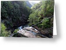 Tallulah Gorge 2 Greeting Card