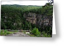 Tallulah Gorge 5 Greeting Card