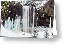 Tamanawas Falls 2 Greeting Card